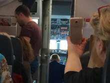 Дебошир избил стюардессу в самолете Санкт-Петербург-Анталия