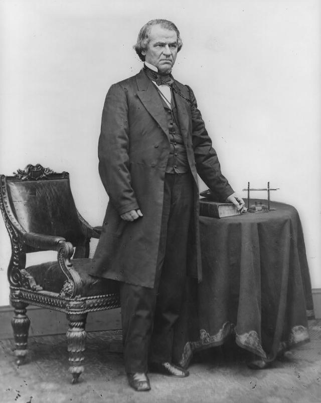 17-й президент США Эндрю Джонсон носил исключительно костюмы, которые кроил и шил собственноручно (до своего президентства Джонсон был портным и имел собственную мастерскую).