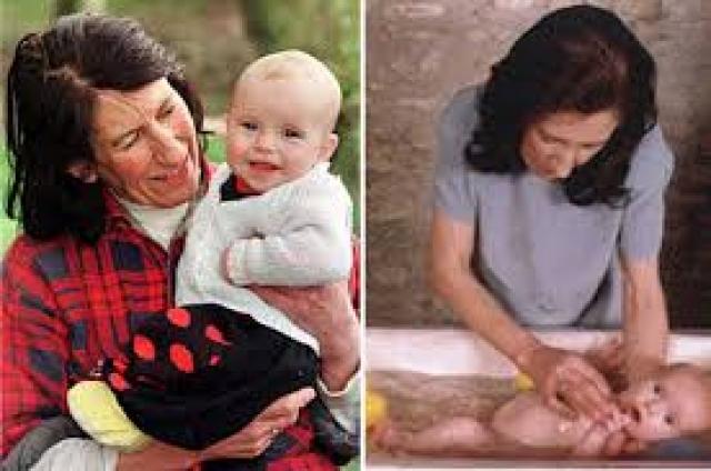 Лиз Баттл была вдовой, но очень хотела сделать подарок своему 41-летнему бойфренду. Лиз скрыла свой возраст, сказав, что ей 49 лет, а не 60. В 1997 году она родила сына Джо, своего второго ребенка (ее старшей дочери был 41 год).