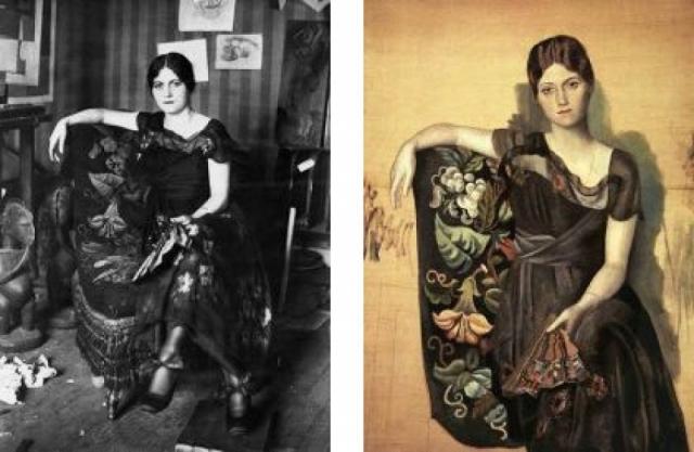 Когда художник представил Ольгу своей семье, матери она не понравилась. Ей казалось, что иностранка, тем более русская, не пара ее гениальному сыну.