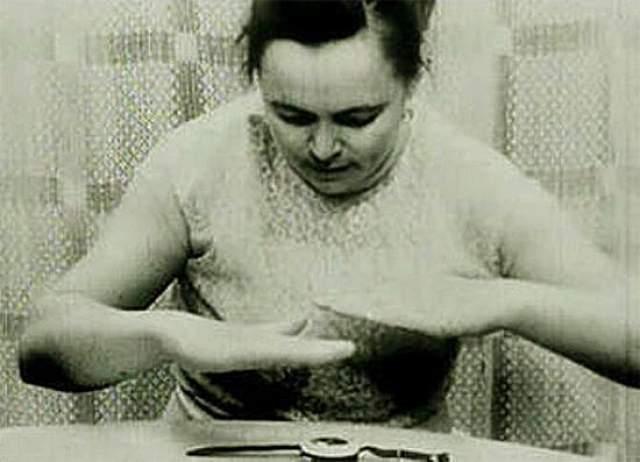 Доказано, что время экспериментов вокруг рук Нинель образовывалось электрическое поле, а микрофон фиксировал ультразвуковые импульсы.
