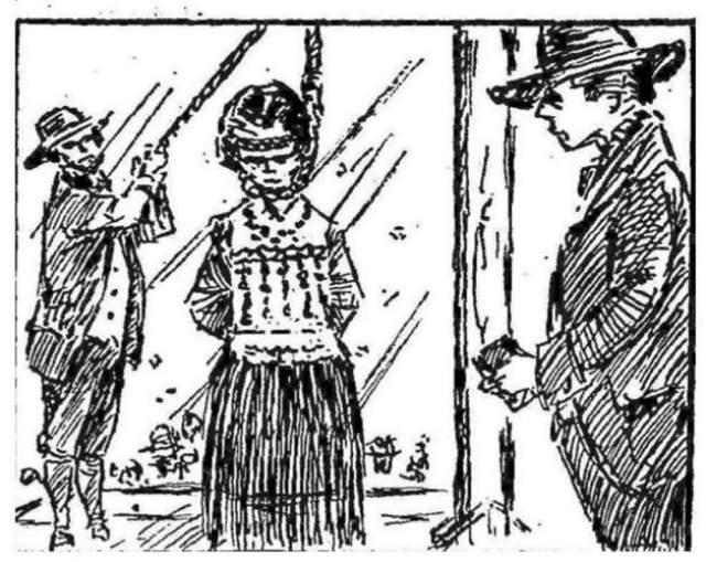 Ханна Окуиш - самая юная девушка, казненная когда-либо в Америке. Ей было всего 12, когда она была повешена за убийство другого ребенка.