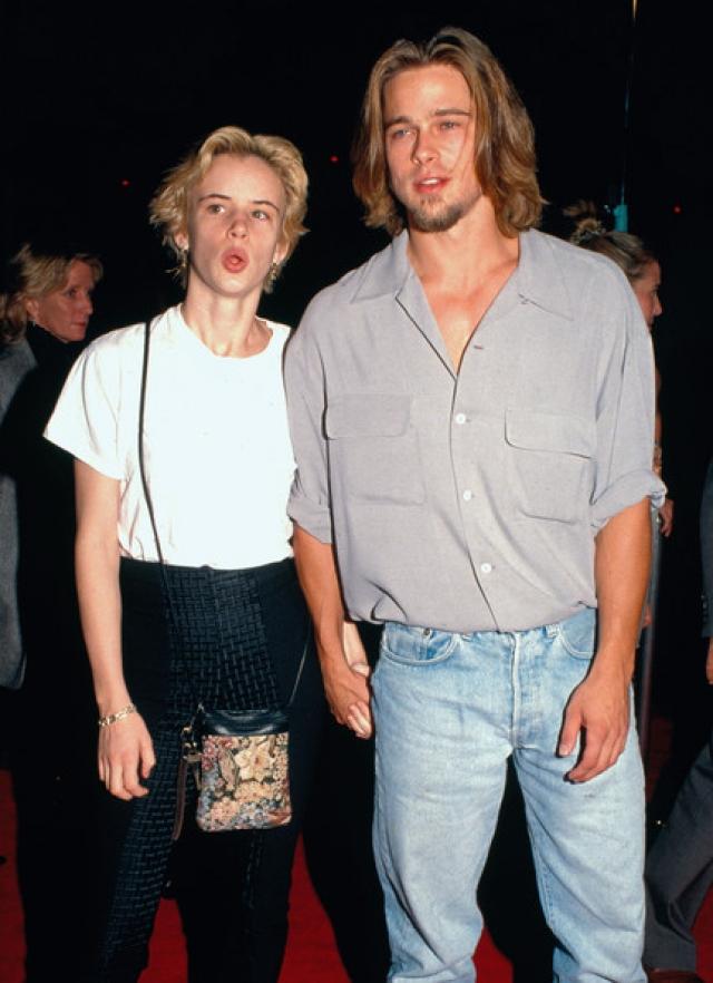 """Джульетт Льюис. Пара познакомилась на съемках фильма """"Слишком молода, чтобы умереть""""."""