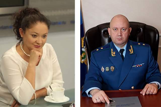 Муж Юлии, Алексей Захаров, занимает пост главного прокурора Московской области, при этом сам родом из Архангельской области. Известно также, что он старше своей супруги на 6 лет.