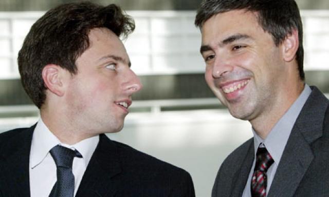 Первоначально они яростно спорили при обсуждении любых научных тем, но затем подружились и объединились для создания поисковой системы для своего кампуса.