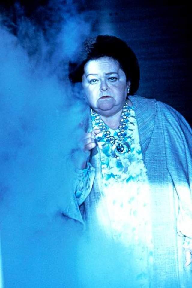 """Дельта Рубинштейн Дельта приобрела известность после фильма по сценарию Стивена Спилберга """"Полтергейст"""", где она воплотила образ медиума, прибывшего, чтобы очистить пригородный дом от приведений и злых духов. Актриса исполнила эту же роль и двух следующих частях."""