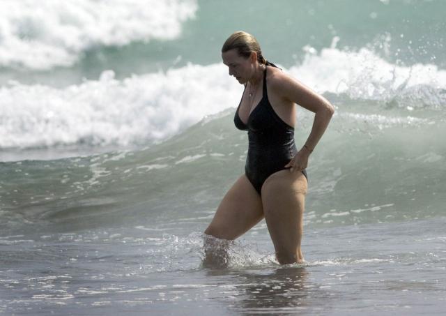 Кейт Уинслет - еще одна жертва весовых перепадов, которая не беспокоится по поводу лишних килограммов.