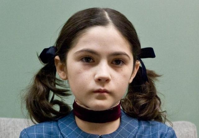 """Изабель Фурман. Исполнительница главной роли в фильме """"Дитя тьмы"""" выглядела довольно странно, как это и полагалось по сценарию."""