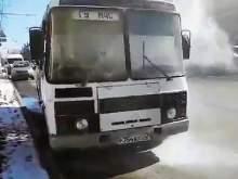 Во Владимире загорелся автобус, который вез журналистов проверять ТЦ