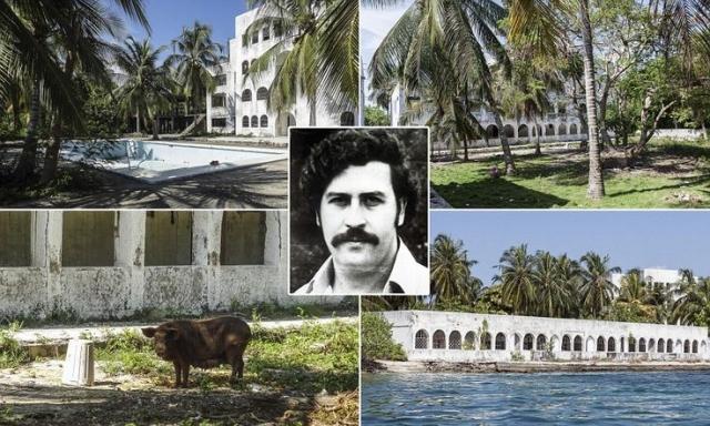 В главном поместье Эскобара было вырыто 20 искусственных озёр, шесть бассейнов и даже построен небольшой аэропорт со взлетно-посадочной полосой. Казалось, что кокаиновый наркобарон просто не знает, что делать с деньгами.