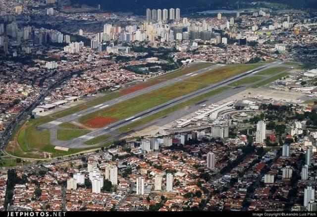 Аэропорт в Сан-Пауло, Бразилия