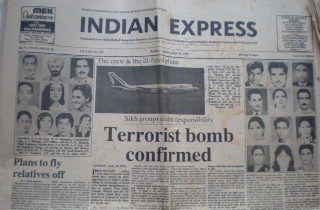 Он сообщил, что обучавшиеся у него террористы, в том числе и Лал Сингх, разработали план уничтожения двух индийских пассажирских самолетов.