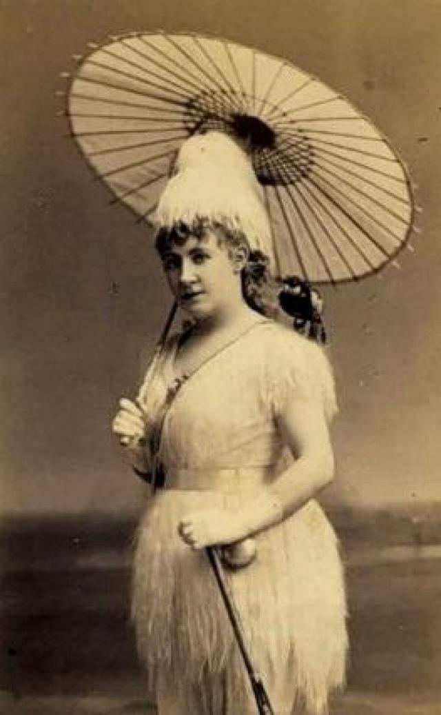 """В 1868-м в США блистали """"Британские блондинки"""" под руководством Лидии Томпсон."""