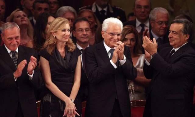 Серджо Маттарелла. Президент Италии овдовел в 2012 году и с тех пор роль первой леди исполняла его дочь Лаура Маттарелла, юрист по образованию.