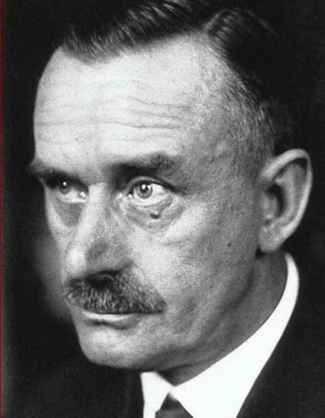 Томас Манн. Когда в 1933 г. он совершал поездку по Европе со своей женой-еврейкой, фашисты одержали победу на выборах. Манн получил предупреждение , что ему не следует возвращаться в Германию.