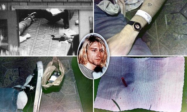 Протокол осмотра места происшествия был составлен формально, без углубленного анализа деталей. По одной из версий следствия, Кобейн ввел себе дозу героина, не совместимую с жизнью, и выстрелил себе в голову из ружья.