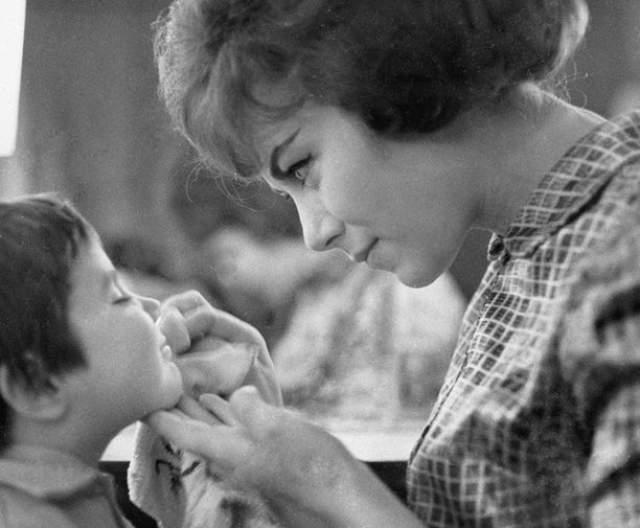 Эдита Пьеха с дочерью Илоной.
