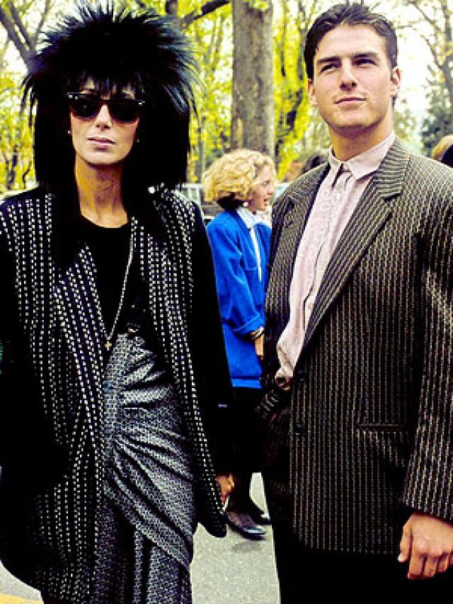 Том Круз и Шер. Сейчас подобную пару довольно сложно представить, но в 1987 году они действительно были вместе.