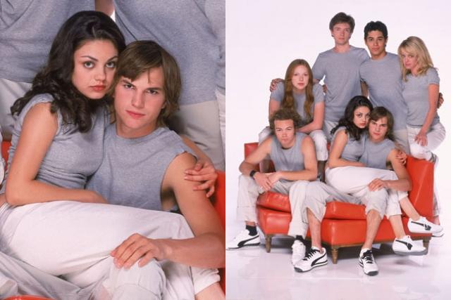 Эштон Катчер и Мила Кунис. Молодые люди встретились еще в 1998 году на съемках проекта That 70's Show, где сыграли влюбленную пару. По официальной версии, они сразу подружились и были хорошими приятелями все это время.