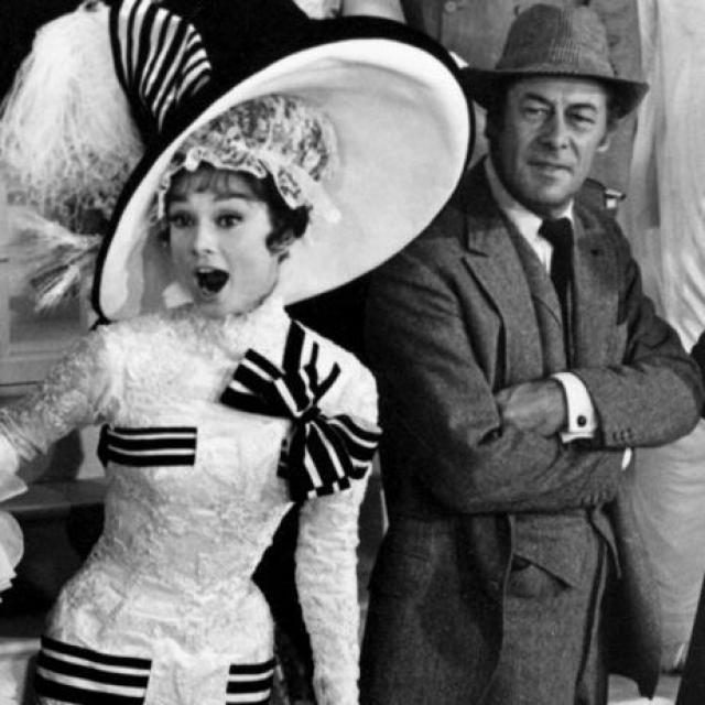 Став одной из самых популярных приманок для зрителя, Одри Хепберн снималась вместе с самыми знаменитыми актерами тех лет. Многие из ее сценических партнеров стали впоследствии ее друзьями. Рекс Харрисон назвал Одри своей любимой партнершей.