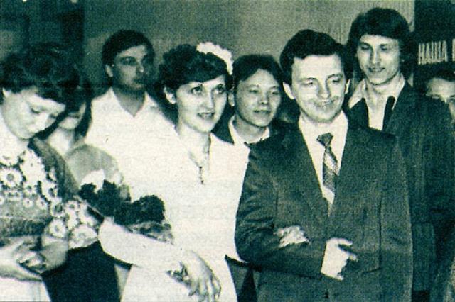 """Владимир Шахрин. Личная жизнь лидера """"Чайфа"""" тоже связана с одной женщиной – Еленой, с которой он познакомился еще во время учебы в техникуме."""