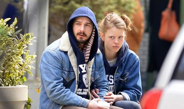 Шайа Лабаф и Мия Гот. Актер развелся с женой, с которой они прожили два года, ради бывшей невесты Роберта Патинссона, певицы и танцовщицы из Великобритании Талии Барнетт, более известной как FKA Twigs.