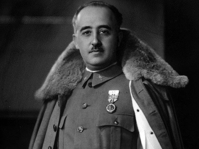 Франсиско Франко - испанский диктатор в 1939-1975 годах.