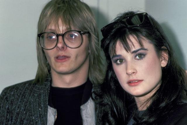 Деми и Фредди Мур. Деми встретила 29-летнего актера Фредди Мура, когда ей было всего 16.