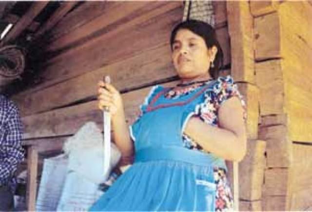 Инес Рамирес Перес. Кесарево сечение. Единственная женщина, отважившаяся на такую операцию. Это случилось 5 марта 2000 года.