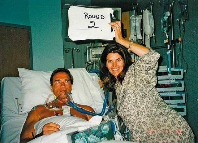 В 1997 году Арнольд перенес операцию на сердце (замена клапана).