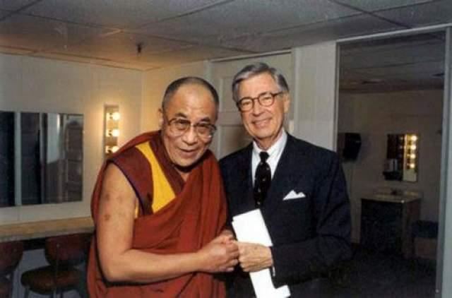 Далай-лама и Фред Роджерс