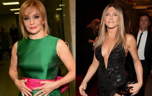 Татьяна Буланова и Дженнифер Энистон (48 лет). Российская певица выглядит для своих лет весьма неплохо, ну а голливудская актриса вообще будто бы молодеет с каждым годом.