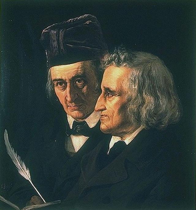 Братья были неразлучны с ранних лет до самой смерти, проводя вместе все время. Вильгельм рос болезненным и слабым мальчиком, а Якоб всегда поддерживал его.