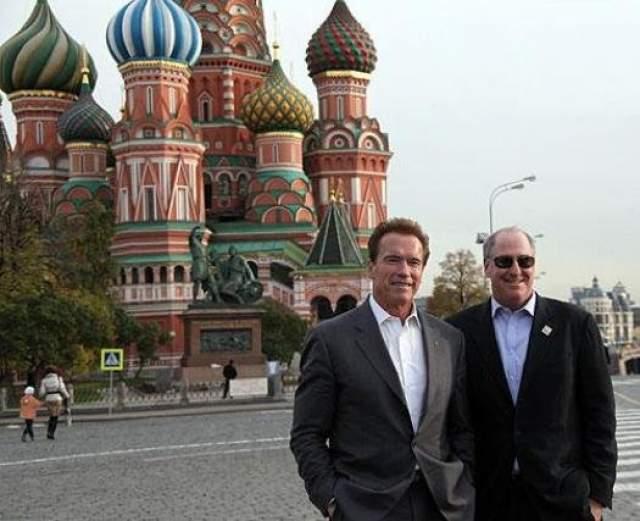 2010 год, Арнольд Шварценеггер принял участие в работе российского-американского инвестиционного форума.