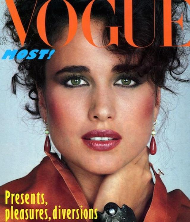 Энди Макдауэлл. Как и многие голливудские звезды, Макдауэлл пришла в кино из модельного бизнеса. Еще студенткой, она подписала контракт с одним из крупнейших модельных агентств мира - Elite.