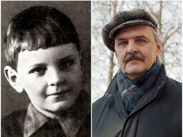 """Таким в детстве был будущий """"Ипполит"""" - Юрий Яковлев ."""