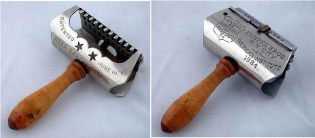 Безопасная бритва. Кинг Жиллетт в 1901 году стал первым, кто предложил миру безопасную бритву.