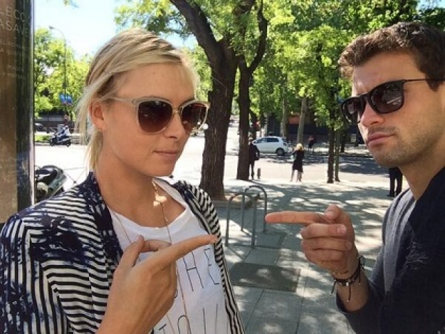 28-летняя Мария Шарапова и 24-летний Григор Димитров решили расстаться.