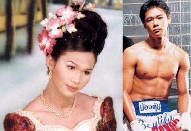 Паринья Киатбусаба. Известный тайский кикбоксер Нонг Тум после смены пола стал одной из самых больших знаменитостей в Таиланде.