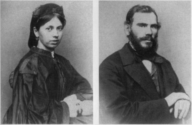 Лев Толстой. Во время свадьбы графу было 34, а Софье - 18. После этого писатель то и дело устраивал своей невесте психологические проверки.