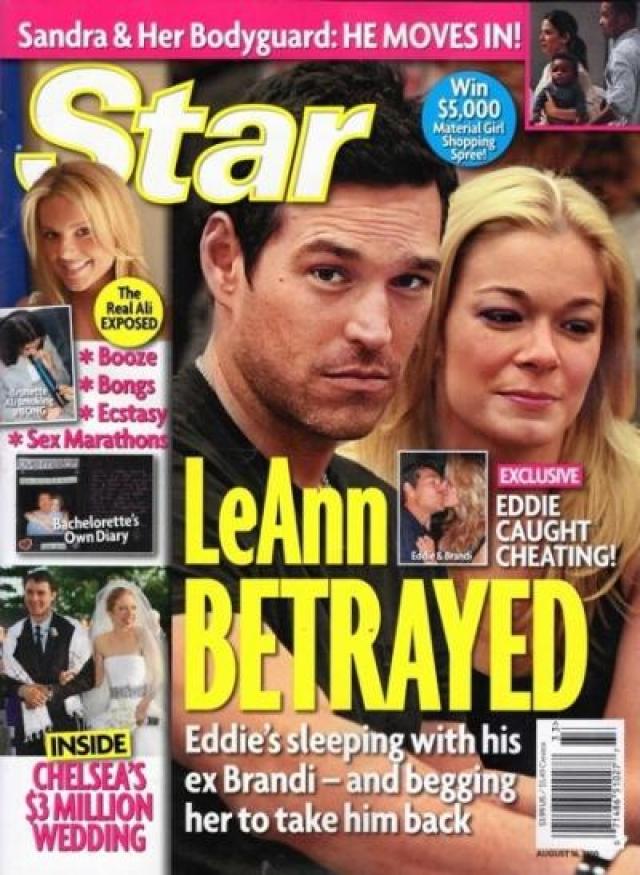 Зато с Эдди Сибрианом их отношения вылились в серьезный роман и даже брак, правда, закончился он также из-за измены актера.