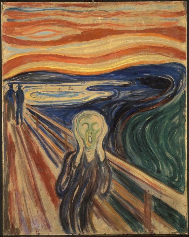 """$119 900 000. """"Крик"""" , Эдвард Мунк, 1895 год."""