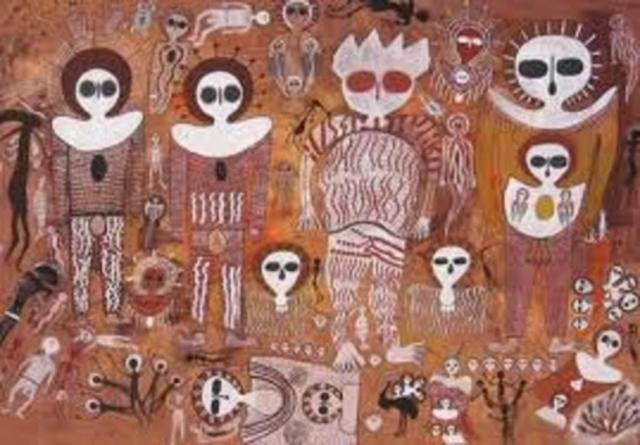 Рисунки были впервые обнаружены в 1891 году.