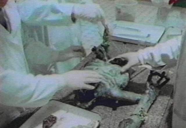 Далее действие перемещается в Москву, где медики проводят вскрытие пришельца.