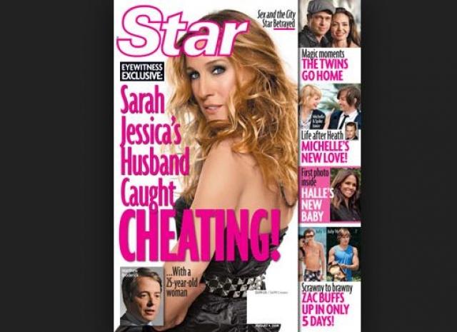 По данным СМИ Бродерика соблазнила неизвестная 25-летняя официантка.