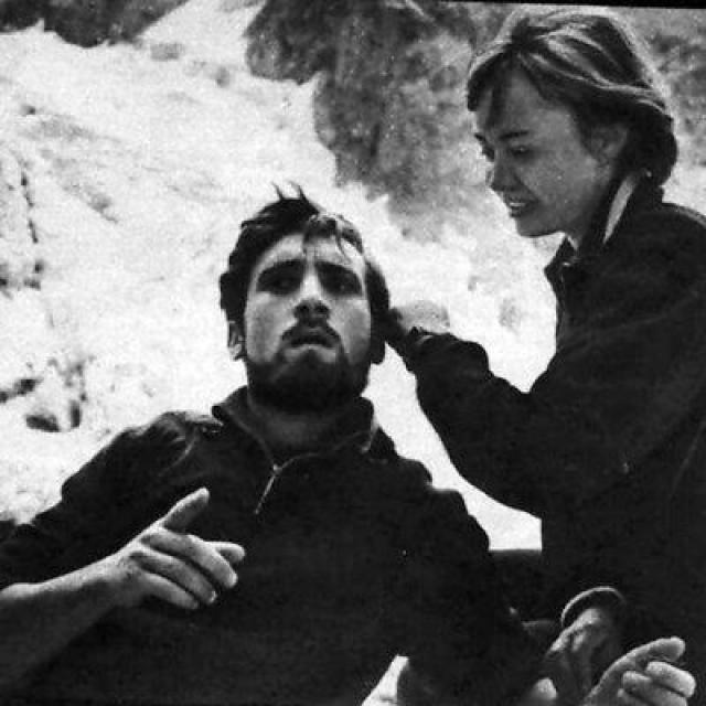 """Лариса Лужина. Они познакомились на съемках картины Станислава Говорухина """"Вертикаль"""" в 1966 году."""