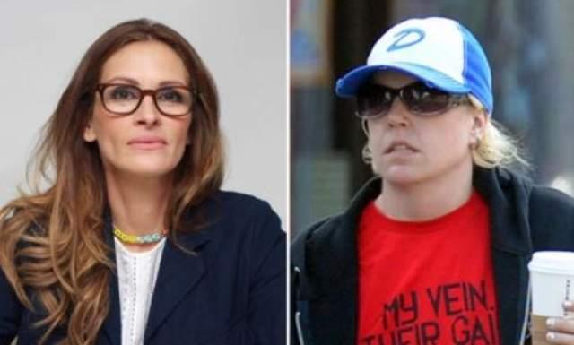 Сама Моутс никак не смогла смириться со славой сестры, которая после нескольких скандалов с ее стороны прекратила всякое общение. В августе 2013 года Нэнси обвинила сводную сестру еще в том, что та не дает ей общаться с матерью.