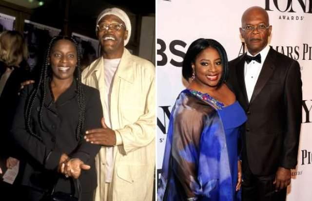 Сэмюэл Л. Джексон и Латаня Ричардсон, 38 лет в браке.
