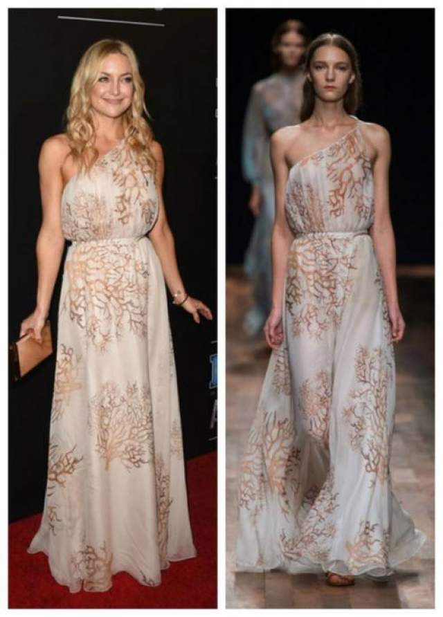 Кейт Хадсон в наряде из коллекции Valentino SS 2015