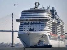 Крупнейший круизный лайнер Европы вышел в море